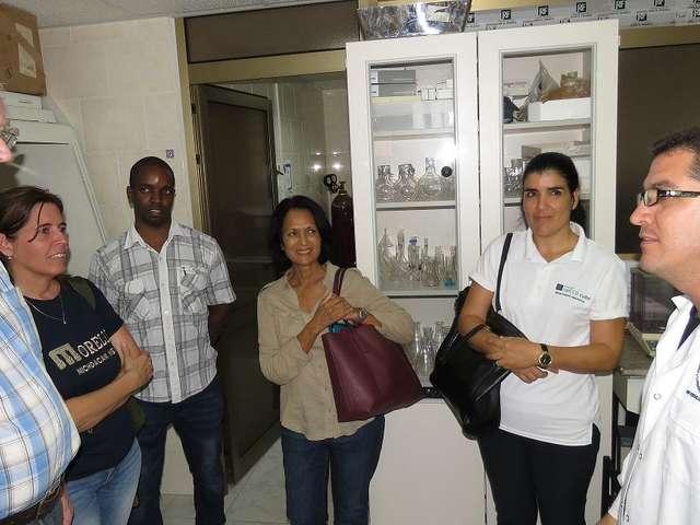 Director de proyecto regional GEF-IWEco visita el CEAC en el marco de la evaluación de medio término de proyecto IWEco.cuba